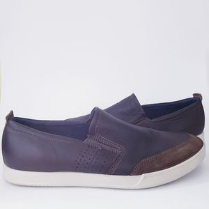 ECCO Collin 2.0 Leather Slip On Loafers